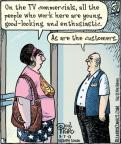 Cartoonist Dan Piraro  Bizarro 2013-09-07 retail