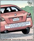Cartoonist Dan Piraro  Bizarro 2013-09-28 entertainment
