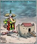 Cartoonist Dan Piraro  Bizarro 2013-09-30 standing