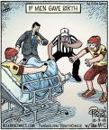 Cartoonist Dan Piraro  Bizarro 2013-10-03 umpire