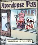 Cartoonist Dan Piraro  Bizarro 2013-10-12 666