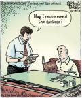 Cartoonist Dan Piraro  Bizarro 2013-10-14 dish