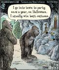 Cartoonist Dan Piraro  Bizarro 2013-11-02 Halloween