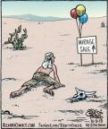 Cartoonist Dan Piraro  Bizarro 2013-11-09 desert