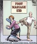 Cartoonist Dan Piraro  Bizarro 2013-11-19 $20