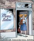 Cartoonist Dan Piraro  Bizarro 2013-12-02 barber