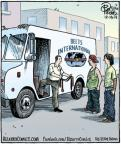 Cartoonist Dan Piraro  Bizarro 2013-12-19 fashionable