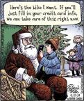 Cartoonist Dan Piraro  Bizarro 2013-12-23 lap