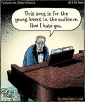 Cartoonist Dan Piraro  Bizarro 2014-01-01 song