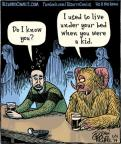Comic Strip Dan Piraro  Bizarro 2014-01-11 afraid