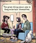 Cartoonist Dan Piraro  Bizarro 2014-01-15 great