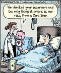 Cartoonist Dan Piraro  Bizarro 2014-02-26 visit