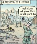 Comic Strip Dan Piraro  Bizarro 2014-03-10 hey