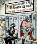Cartoonist Dan Piraro  Bizarro 2014-03-29 athlete