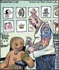 Cartoonist Dan Piraro  Bizarro 2014-04-02 ice