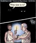 Cartoonist Dan Piraro  Bizarro 2014-04-10 ancient