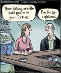 Cartoonist Dan Piraro  Bizarro 2014-04-16 eight