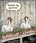 Cartoonist Dan Piraro  Bizarro 2014-04-17 chicken