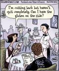 Cartoonist Dan Piraro  Bizarro 2014-04-29 side