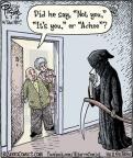 Cartoonist Dan Piraro  Bizarro 2014-05-07 hear