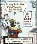 Cartoonist Dan Piraro  Bizarro 2014-05-12 test