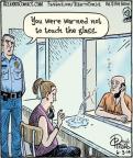 Cartoonist Dan Piraro  Bizarro 2014-06-03 visit