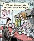 Cartoonist Dan Piraro  Bizarro 2014-06-04 two