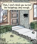Cartoonist Dan Piraro  Bizarro 2014-06-16 gardening