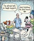 Comic Strip Dan Piraro  Bizarro 2014-07-02 afraid
