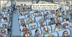 Comic Strip Dan Piraro  Bizarro 2014-07-20 fear