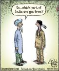 Cartoonist Dan Piraro  Bizarro 2014-07-16 American