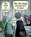 Cartoonist Dan Piraro  Bizarro 2014-07-31 death