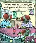 Cartoonist Dan Piraro  Bizarro 2014-08-16 bug