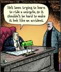 Cartoonist Dan Piraro  Bizarro 2014-08-27 death