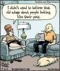 Cartoonist Dan Piraro  Bizarro 2014-09-18 favor
