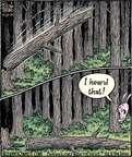 Cartoonist Dan Piraro  Bizarro 2014-09-27 hear