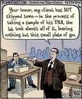 Cartoonist Dan Piraro  Bizarro 2014-10-16 courtroom