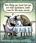 Cartoonist Dan Piraro  Bizarro 2014-11-05 room