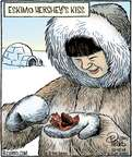 Comic Strip Dan Piraro  Bizarro 2014-12-15 chocolate