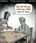 Cartoonist Dan Piraro  Bizarro 2014-12-30 dish