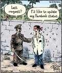 Cartoonist Dan Piraro  Bizarro 2015-01-02 Facebook status