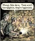 Cartoonist Dan Piraro  Bizarro 2015-02-02 ancient