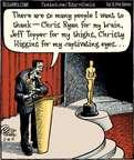 Cartoonist Dan Piraro  Bizarro 2015-02-14 winner