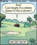 Comic Strip Dan Piraro  Bizarro 2015-03-03 leisure