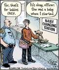 Cartoonist Dan Piraro  Bizarro 2015-03-26 dad