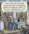 Comic Strip Dan Piraro  Bizarro 2015-04-25 fear