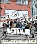 Cartoonist Dan Piraro  Bizarro 2015-05-06 march