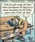 Cartoonist Dan Piraro  Bizarro 2015-05-18 sorry