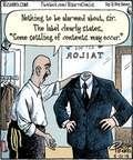 Cartoonist Dan Piraro  Bizarro 2015-05-21 state