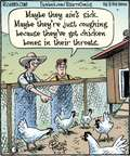 Cartoonist Dan Piraro  Bizarro 2015-07-10 farmer
